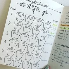 Motivational Bullet Journal Spreads for Health and Fitness - The Petite Planner
