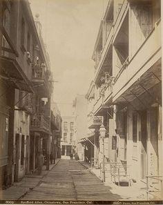 San Francisco 1890 | San Francisco Chinatown circa 1890