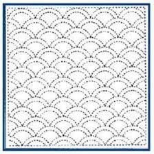 Traditional Sashiko Pattern designs Matilda& Own Sashiko Pattern x Embroidery Fabric, Embroidery Patterns, Sewing Patterns, Shashiko Embroidery, Japanese Embroidery, Running Stitch, Japanese Design, Embroidery Techniques, Shibori