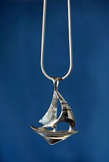 Nautical jewelry in sterling silver