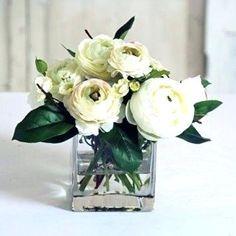 Square Vase Centerpieces, Silk Arrangements, Image Types, Google Images, Glass Vase, Flowers, Royal Icing Flowers, Flower, Florals