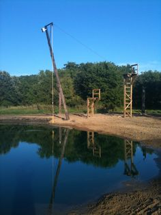 Telephone Pole Rope Swing Pond Bing Images Family Fun