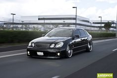 There's just somethin about VIP cars. Bagged Lexus GS300