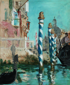 Édouard Manet (French, 1832-1883), View in Venice - The Grand Canal, 1874. Oil on canvas, 57.2 x 47.6 cm.