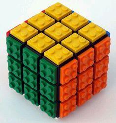 Cubo rubik de lego