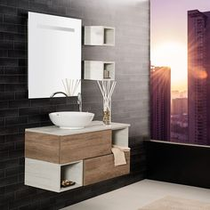 The Benefits of Having a Bathroom Cabinet - Perfect Bathroom Storage Solution - Life ideas Basement Furniture, Bathroom Furniture, Bathroom Vanity Units, Small Bathroom, Modern Bathroom Design, Bathroom Interior Design, Washbasin Design, Bathroom Storage Solutions, Bath Cabinets
