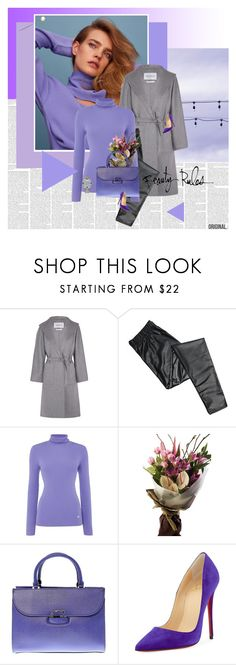 """""""Diaphonous"""" by stephaniee90 ❤ liked on Polyvore featuring MaxMara, Lauren Ralph Lauren, GUESS, Bobbi Brown Cosmetics, Christian Louboutin and Rolex"""