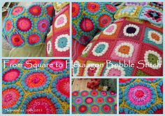 Bobble Hexagon Pattern