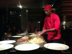 Hard Rock Hotel & Casino Punta Cana: Teppenyaki at Zen Restaurant