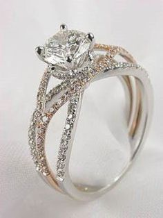 Beautiful rose gold wedding rings ideas you can't resist 39