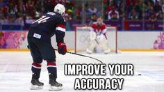 4 Tips to Improve Your Accuracy Custom Basketball, Basketball Drills, Basketball Players, Hockey Drills, Hockey Memes, Hockey Shot, Ice Hockey, Agility Workouts, Hockey Training