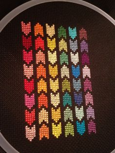 Free Pattern Friday – Geometric Arrows