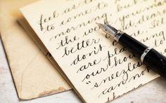Resultado de imagem para cursive handwriting