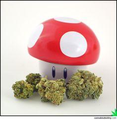 Power UP this Monday! <3  #weed #supermario #mushrooms #marijuana #cannabis