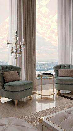 60 Best Classic Interior Design Ideas How To Make Your Home living room decor idea Contemporary Interior, Modern Interior Design, Modern Classic Interior, Modern Decor, Contemporary Classic, Modern Interiors, Modern Luxury, Art Deco Interiors, Modern Wall