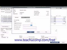 27 best quickbooks images on pinterest accounting business and learn about early bill payment discounts in quickbooks pro 2014 at teachucomp a clip from mastering quickbooks made easy get the complete tutorial fandeluxe Choice Image