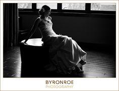{Megan + Matt} Wedding Photography; Bride Portraits - Downtown Bend, Oregon