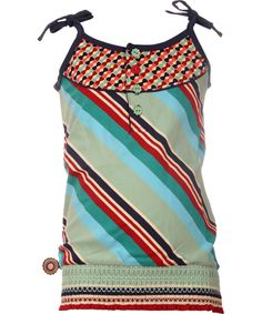 4FunkyFlavours fantastic diagonal striped summer top. 4funkyflavours.en.emilea.be