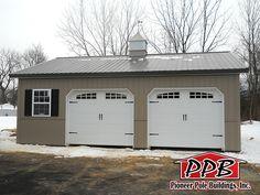 "30' W x 32' L x 10' 4"" H (ID# 408) - Total Cost: $16,535 | Pioneer Pole Buildings"