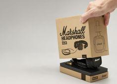 Marshall Headphones packaging