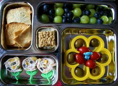 Bento Love: Watering The Flowers Lunch - Family Fresh Meals