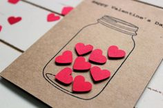 Little things done with love have a special place in one's heart. Make your partner's Valentine's day special by doing these small things for your partner. Bf Gifts, Craft Gifts, Cute Gifts, Handmade Birthday Cards, Diy Birthday, Love Cards, Diy Cards, Tarjetas Diy, Art N Craft