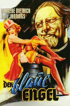@@@ April 2018 | Josef von Sternberg | Der blaue engel (Den blå engel) | 1930 Tyskland | 1001-film | Art Noir | Diva | Marlene Dietrich