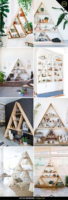 I SPY INSPIRATION | Triangle Shelf | I Spy DIY | Bloglovin'