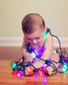 My sweet Colin's First Christmas. Photography by Donna Kay. Check her out! Amazing work, amazing photographer!