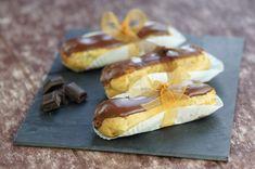 On doit cette pâtisserie longiligne au nappage brillant à Marie-Antoine Carême, illustre pâtissier du XIXème siècle qui créa l'éclair…