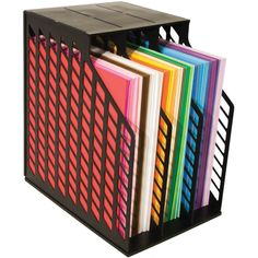 Scrapbooking: Vertical 12x12 Paper Storage Solutions - Kat's Adventures in paper crafting...