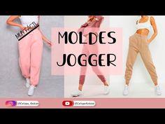 Fashion Sewing, Diy Fashion, Fashion Outfits, Jogger Pants Outfit, Pantalon Cargo, Clothing Hacks, Pants Pattern, Clothing Patterns, Diy Clothes