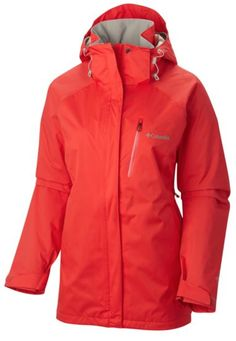 874ff12342e3 Lightweight warmth meets waterproof breathability on this performance  hooded shell built for cold