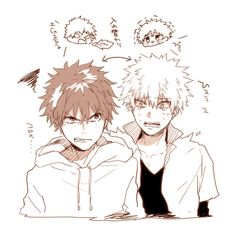 My Hero Academia (Boku No Hero Academia) #Anime #Manga Midoriya and Bakugou personality swap