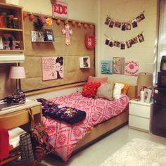 My dorm room! diy in 2019 Home Decor Bedroom, Room Decor, Dorm Room Necessities, Dorm Life, College Life, Dorm Room Organization, College Dorm Rooms, Dorm Decorations, Room Inspiration