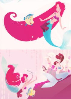 disney edit the little mermaid ariel books brittney lee Part of Their World