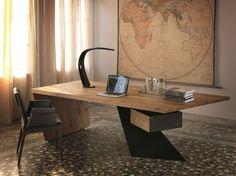 Couleur/look bois table de travail