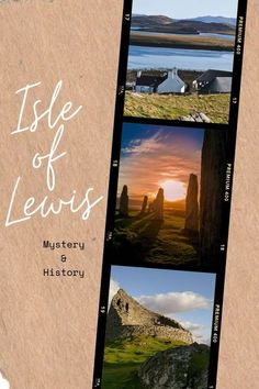 The mystery and history of all the main Isle of Lewis sites: Calanais Standing Stones, Dun Carloway Broch, Blackhouse, Norse Mill, Harris Tweed, Butt of Lewis, Uig Chessmen and more #isleoflewis #scottishislands #scotland Church Of Scotland, Isle Of Harris, Dry Stone, Outer Hebrides, Scottish Islands, Harris Tweed, Before Us, Culture Travel, Historical Sites