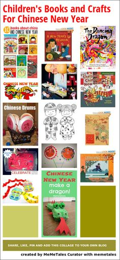 Children's Books and Crafts For Chinese New Year
