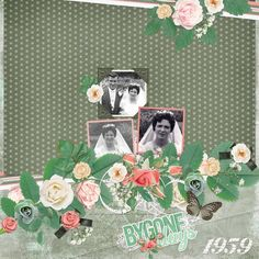 Made with the Echoes of the Past kit by Aimee Harrison Design Studios. Template - Vintage Charm by Heartstrings Scrap Art Harrison Design, Digital Scrapbooking Layouts, The Past, Templates, Design Studios, Heartstrings, Vintage, Cherry, Kit