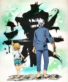 Naru & Seishuu   Barakamon #anime