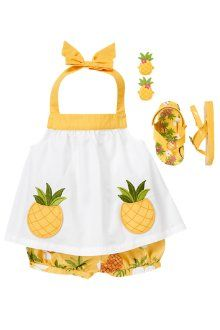 Just when I thought baby girl clothes couldn't get cuter.