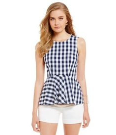 Shop for Cremieux Cindy Gingham Peplum Blouse at Dillards.com. Visit Dillards.com to find clothing, accessories, shoes, cosmetics & more. The Style of Your Life.
