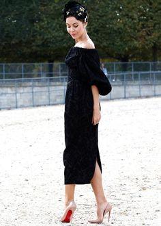 Paris Fashion Week street style: Best dresses
