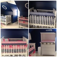A personal favorite from my Etsy shop https://www.etsy.com/listing/121810719/bumperless-crib-set-bedding-prince-and