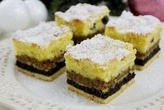 Štedrák z lineckého cesta Oreo Cupcakes, Cake Cookies, Amazing Cakes, Christmas Cookies, Nutella, Cheesecake, Food And Drink, Sweets, Gardening