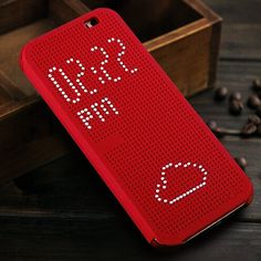 Auto Sleep Wake function For HTC One M8 Smart Dot View Flip Cover Case With Stylish Matrix Design Free Shipping
