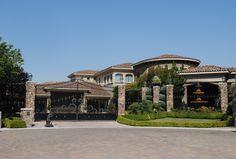 Wrought Iron Driveway Gates, Foyer, House Styles, Angel, Chic, Home Decor, Home, Shabby Chic, Elegant