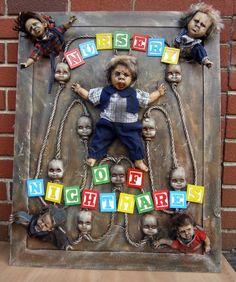 nursery of Nightmares Sign TWISTED UK