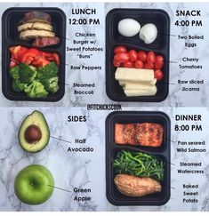 Do you have a daily routine Here is a look into the day of fitchickscook Lately Ive been getting a lot of questions around what I eat for breakfast or why I dont eat bef. Healthy Life, Healthy Snacks, Healthy Eating, Healthy Recipes, Sweet Potato Buns, Lunch Snacks, Calories, Pcos, Meal Planning